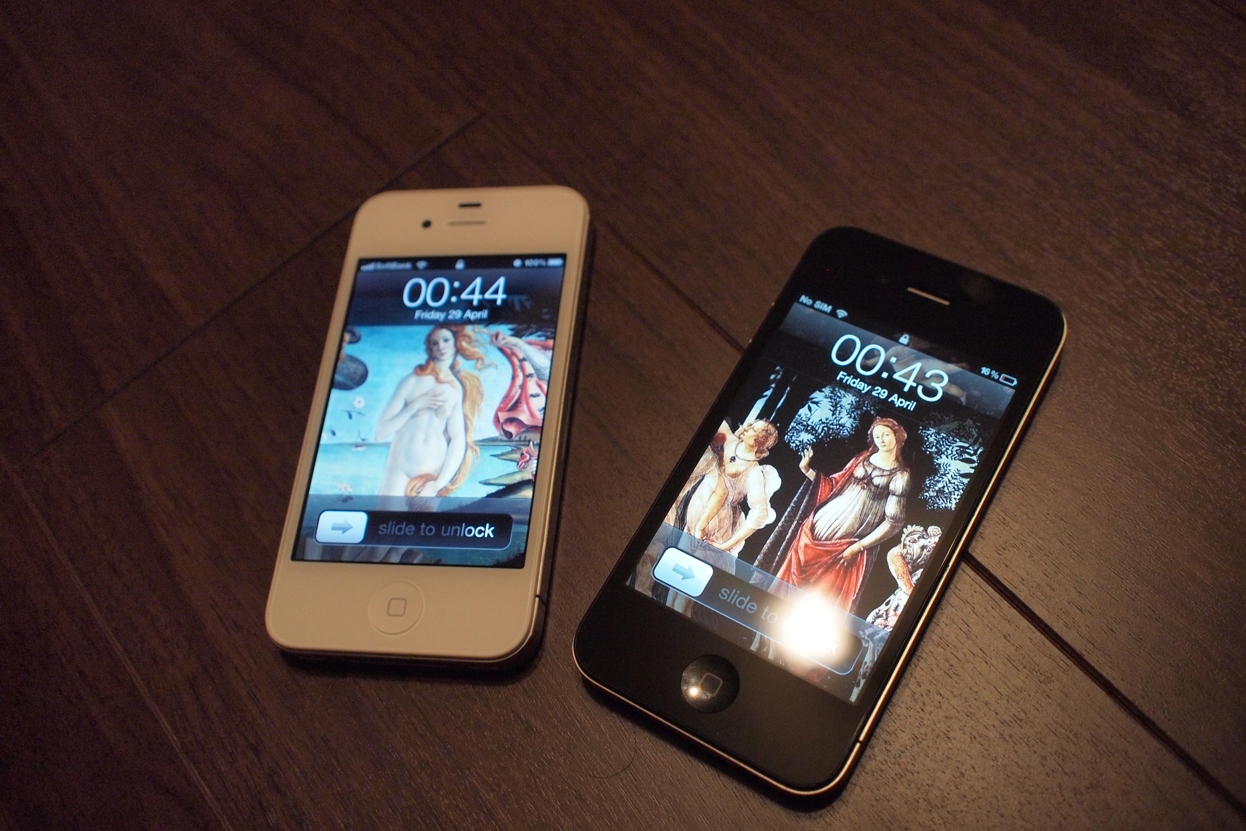 Iphone 4ホワイトモデルにはヴィーナスが似合う The Art Of Marr S Blog
